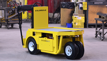 Columbia Stockchaser - Electric industrial warehouse vehicle - Burden carrier or tugger