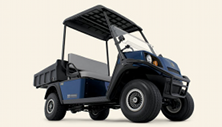 Cushman Hauler gas or electric utility vehicle