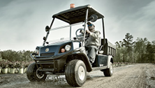 Cushman Hauler Pro electric with 50 mile range