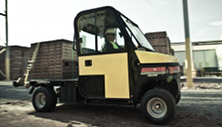 Cushman Haulster heavy duty utility vehicle