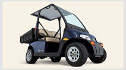Cushman LSV 800 street legal electric NEV utility vehicle