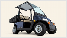 Cushman LSV-800 street legal NEV electric utility vehicle - zero emission