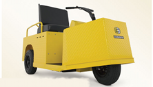 Cushman Minute Miser electric 3-wheel industrial warehouse vehicle