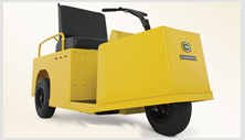 Cushman Minute Miser - industrial warehouse personnel carrier vehicle