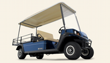 Cushman Shuttle 2 gas or electric passenger utility vehicle
