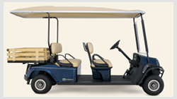 Cushman Shuttle 4 off-highway passenger cart