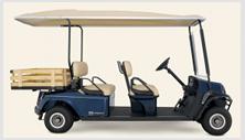Cushman Shuttle 4 passenger cart