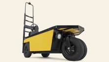 Cushman Stock Chaser electric industrial warehouse vehicle