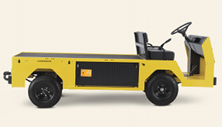 Cushman Titan XD electric industrial warehouse vehicle