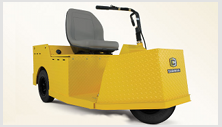 Cushman Tug - industrial warehouse vehicle
