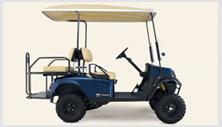 Cushman Shuttle 4X passenger utility cart