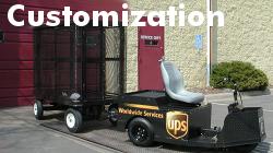 Cushman Motor Company customizes vehicles for customer needs.