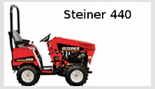 Steiner 440 compact tractor