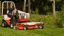 Ventrac 4500 compact tractor with rear discharge mower