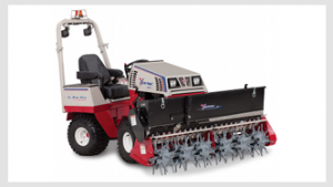 Ventrac Aera-vator with 4500 tractor - click for more info.