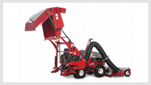 Ventrac Vacuum Collection System with 4500 Compact Tractor - click for more information.