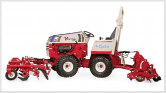 Ventrac ballpark groomer and renovator. Click for more detail.
