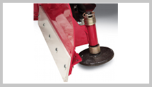 Ventrac V-blade quality construction. Click image for specs.