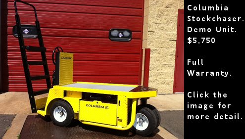 Columbia Stockchaser - Demo Unit. $5,570 dollars. Click the image for more detail.
