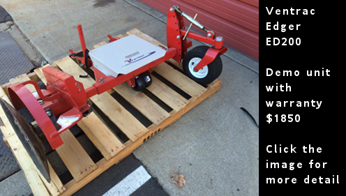 Used Ventrac Edger - Demo Unit - ED200. Click the image for more details.
