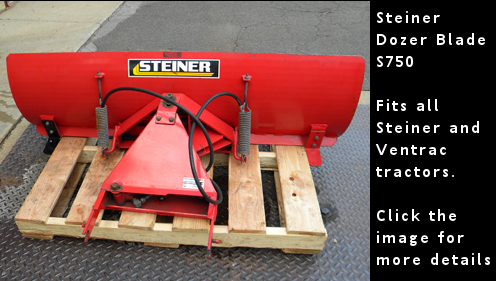 Used Steiner Dozer Blade BD260 - click this image for more details