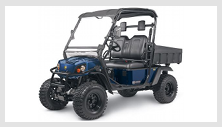 Cushman Hauler 4X4 Gas utility vehicle. Click image for details.