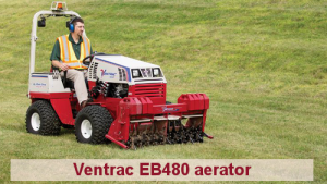 Cushman Motors Minneapolis rents Ventrac attachments like aerators