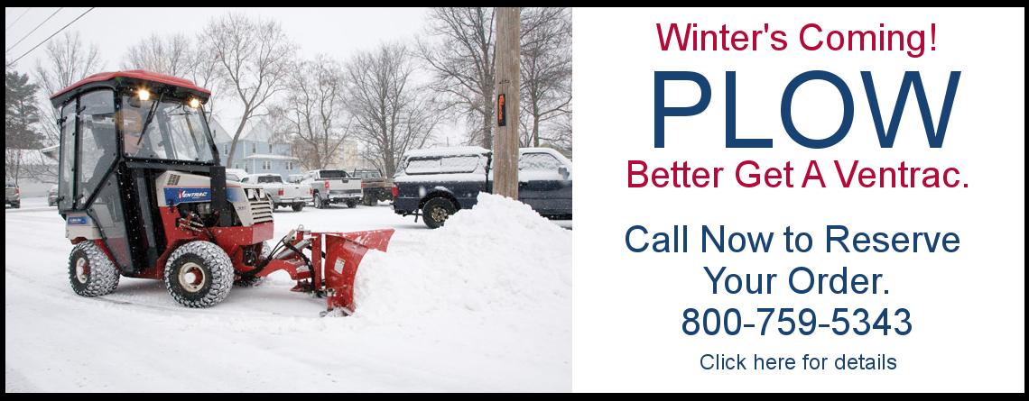 Winter's Coming – Plow!