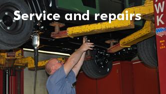 Cushman offers factory trained service and repairs