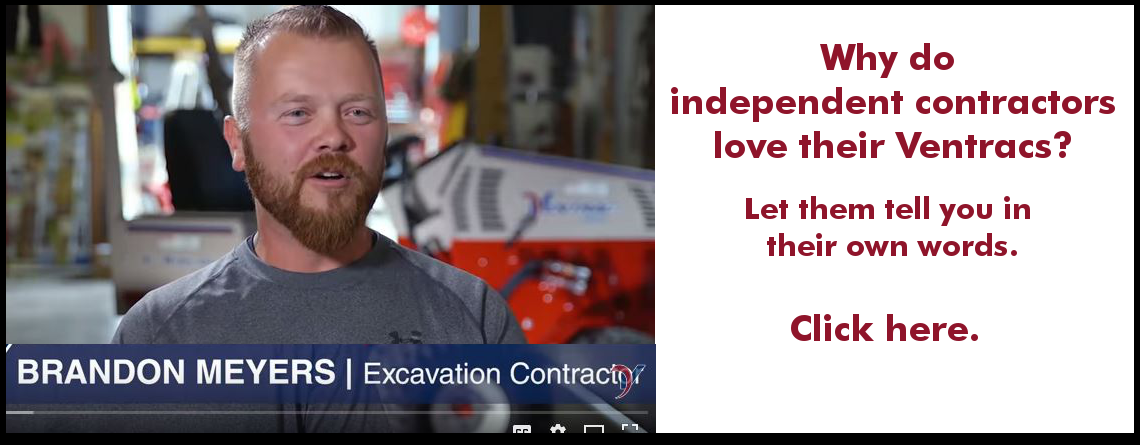 Independent contractors love Ventrac tractors