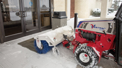 Get the Ventrac reversible power broom - 0% financing