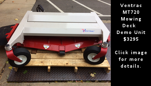 Ventrac MT720 Mower Deck – Demo Unit. $3295
