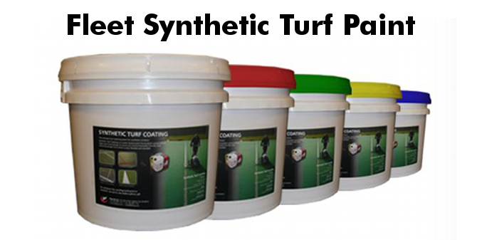 Fleet synthetic turf paint