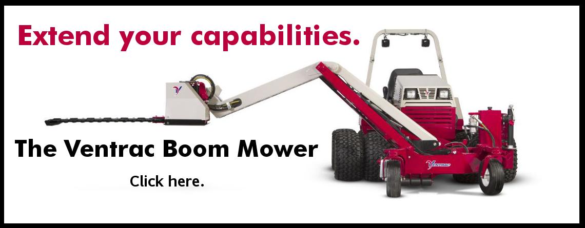 Ventrac boom mower