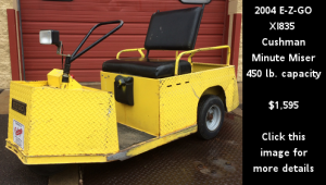 Used 2004 E-Z-GO XI835 Cushman Minute Miser. Click this image for more details.