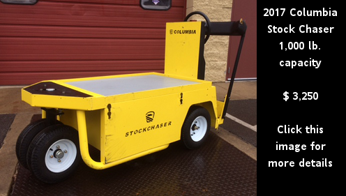 Used 2017 Columbia Stock Chaser. Price: $3,250. Click the image for more details.