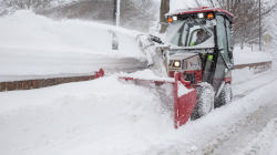 Ventrac 4500 with snow blower