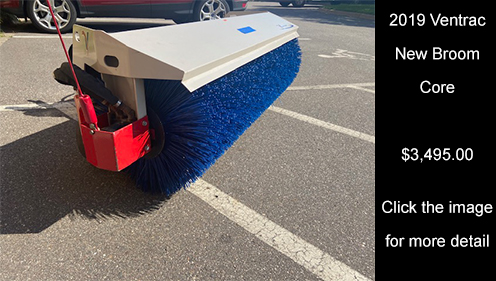 2019 Ventrac New Broom Core. Click image for more details.
